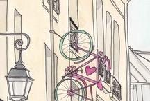 Bike and kawaii
