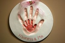 New Mom / New Mom keepsakes of your baby. Hand and footprints make a great cherished momento to hold onto forever. Capture a moment in time. Many other great products and ideas for baby too. www.etsy.com/shop/thebabyhandprintco www.thebabyhandprintco.com #handprintmold #ceramicprints   #baby #newchild #newbaby #newparent