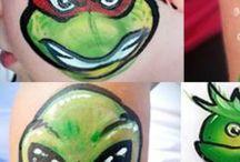 Facepaint - Aliens