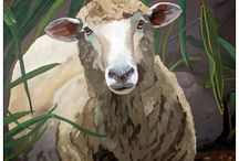 Sheep / Sheep that would be fun to paint / by Debra Galarneau