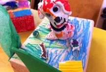 Art Project Ideas for Kids / Creative activities for children as young as 18 months-grade 9.
