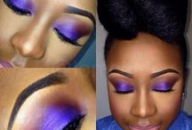 Dramatic Makeup / Smokey eye, bold lips, etc...