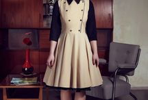 Pin-Up, Rockabilly, Vintage dresses autumn/ winter