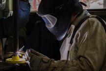 OXY Chile / Fotografía Industrial. Nuestros amigos de OXY Xhile, empresa productora de químicos. Nos han pedido renovar su imagen.