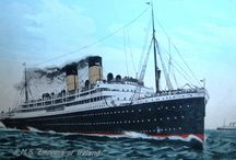 The Empress of Ireland / Worst Maritime disaster in History that killed a larger percentage of its passengers and more women and children than Titanic but was kept a relative secret.   / by Frank Graham