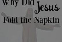 jesus napkin