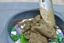Fioriere di cemento