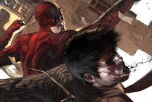 Daredevil / Daredevil ( Matt Murdock ) is a fictional superhero appearing in American comic books, origin story is in the Hell's Kitchen neighborhood of New York City.