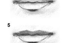 bv portret tekenen