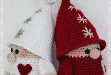 hæklede jul