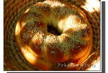 Chleby a pečivo. / pečení