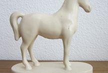bord 1 (wit paard) / Het bord gaat over een wit paard