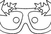 máscaras e decoraçao