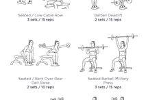 Workout - back/shoulder/chest
