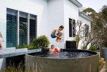 Beautiful Pools / Design ideas for incorporating swimming pools into beautiful outdoor settings.