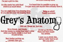 Grey's Anatomy <3 / Lines that stuck with me from Grey's Anatomy / by Sherine Paul