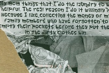 Posting Secrets / I just found this website called PostSecret.com. It is blowing my mind. I know people have secrets and this is an interesting way to share it.