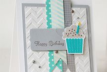 Create a Cupcake- Stampin' Up! / Projects using the stamp set and or punch By Stampin' Up!