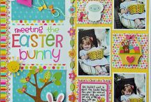 Easter LO Ideas / by Dawn <3