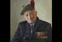 Veterans Portraits / The exhibition called The Last Of The Tide begins today at Buckingham Palace 71 years to the day since the Allied invasion of Europe