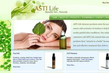 Natural Skin Care / All natural skin care solutions. ASTILife products available on Amazon or http://astilife.com http://blog.astilife.com