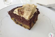vegan brownies, cookies, & bars.