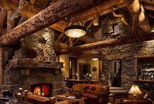 Log Cabins / by LogFinish.com