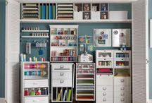 Craft cupboards