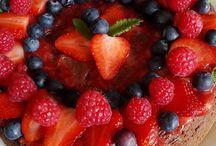 Nahé torty, macarons, tartaletky... / Domáca výroba. Nahé torty, macarons - chute aj farby podľa želania. Veľa ovocia, mascarpone, maslo....