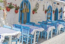 Taverna / Mediterranean diet style food with tastes from Greece