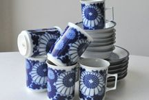 Retro crockery / Tons of great retro crockery, also for sale on Epla and Etsy