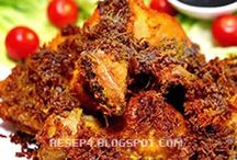 Resep makanan / Ayam kalasan