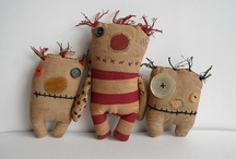 Critters / stuffed, sewn & a little bit 'wrong'... delightfully so