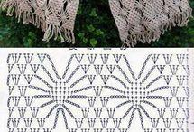 tejidos crochet / muestras de crochet.