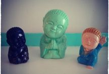 Budas Bebes / Varios tamaños y posturas de buditas