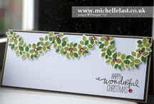 Wonderous wreath-stampin up
