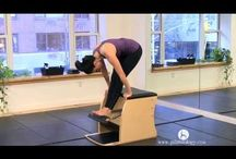 Pilates- Wunda chair / Chair specific Pilates exercises
