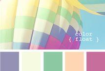 Colour / Colour stories & palettes