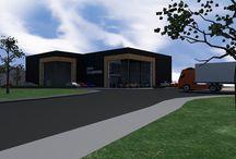 Utiliteitsbouw Studio SBA / Studio SBA, uw partner voor het ontwerpen van kantoorpanden, bedrijfsruimtes of agrarische gebouwen.