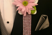 Prom Flowers / Corsage, boutonniere, floral combs...everything you need for prom