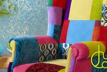 Juicy Colors / Patchwork Furniture , upholstery