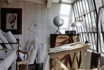Art Studio / Where artists make their art, the art studio is not only practical, it can also be beautiful.