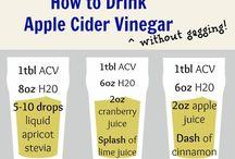 Apple cider vineagar
