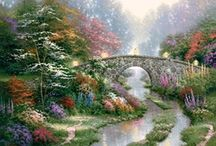 Thomas Kinkade / by Julie Purkey