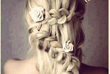 Wedding hair, makeup, accessories... / by Caitlin Marovich