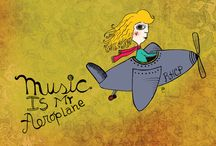 Music is my aeroplane.