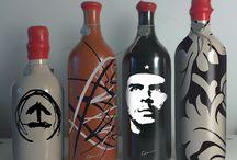 Botellas de vino Porcellanic personalizadas / Un regalo único e irrepetible.