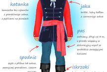 Polish Folk Costumes / by Justyna Stewart