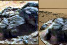 Alien Beings on Mars / Incredible Images of Alien Beings on Mars