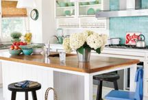 Kitchens / All about kitchens! Lots of kitchen inspiration no matter your style or budget. / by Linda (burlap+blue)